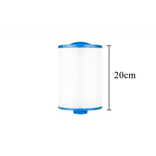 Pack 4x3 filtros cortos para spa