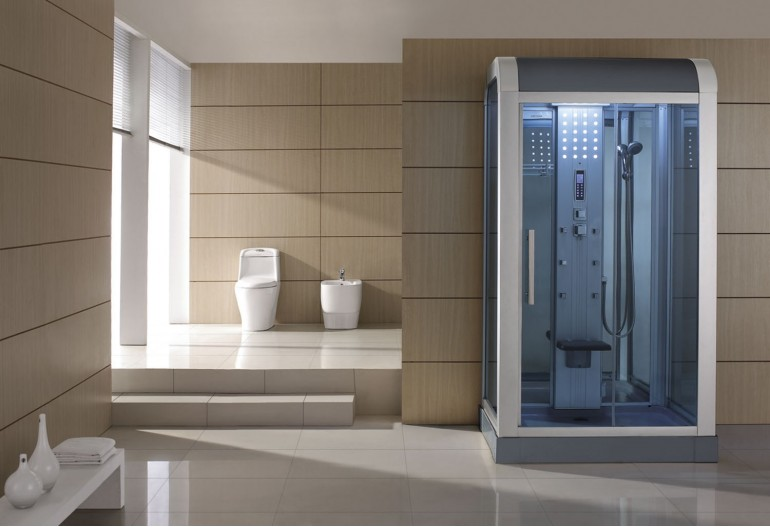 Cabine de hidromassagem com sauna AS-010B