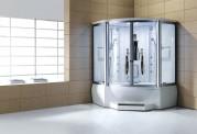 Cabine de hidromassagem e banheira com sauna AT-010C