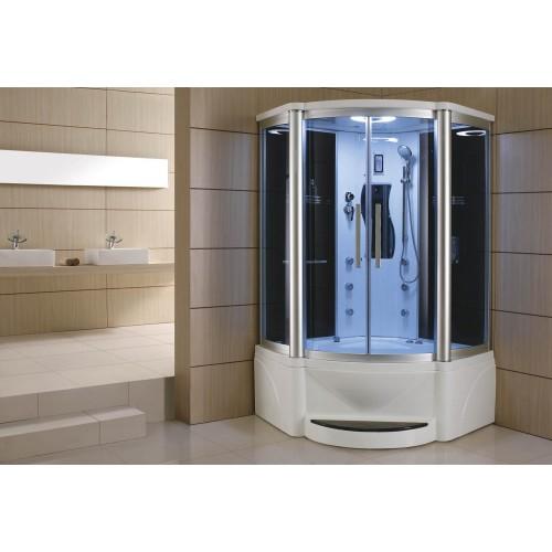 Cabine hidromassagem e banheira com sauna AT-011A