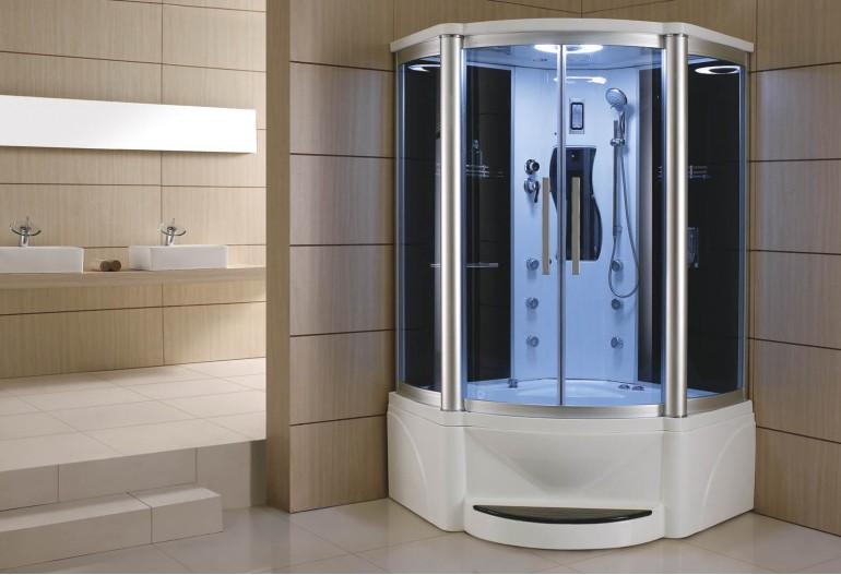 Cabine de hidromassagem e banheira com sauna AT-011A