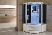 Cabina hidromasaje y bañera con sauna AT-011B
