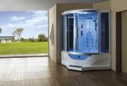 Cabina hidromasaje y bañera con sauna AT-012B