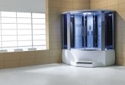 Cabina hidromasaje y bañera con sauna AT-012C