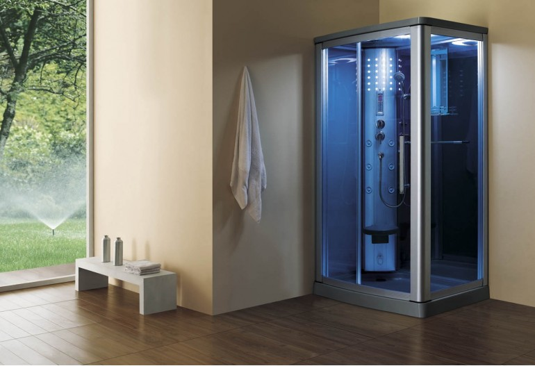 Cabine de hidromassagem com sauna AS-014