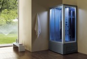 Cabina hidromasaje y bañera con sauna AT-014