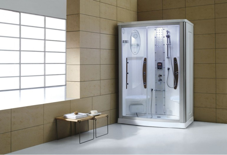 Cabine de hidromassagem com sauna AS-015