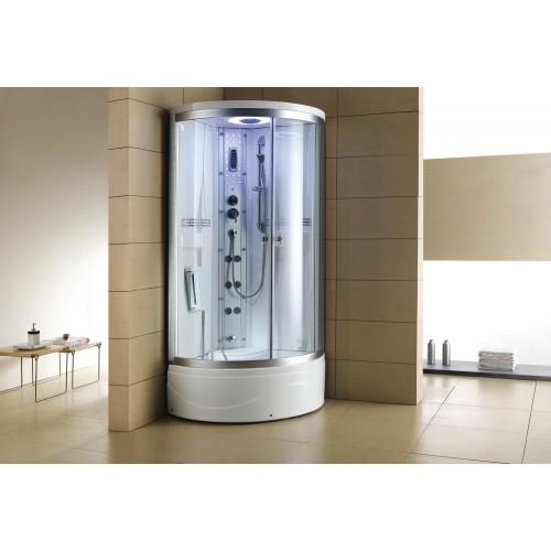 Cabina hidromasaje y bañera con sauna AT-001-1