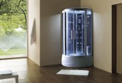 Cabine de hidromassagem e banheira com sauna AT-003