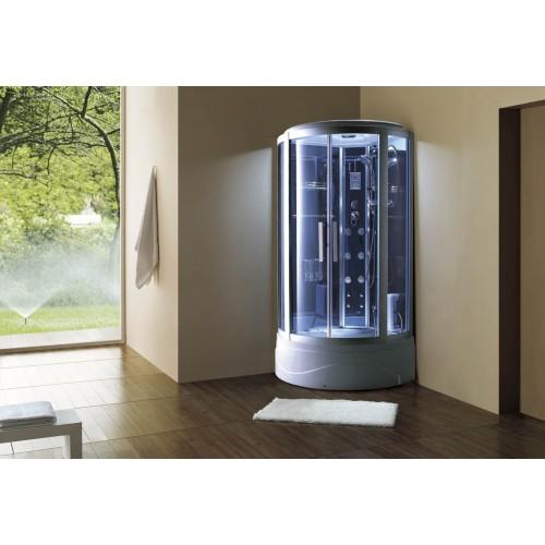 Cabine hidromassagem e banheira com sauna AT-003