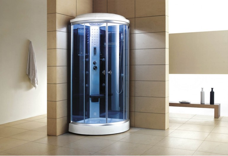 Cabine de hidromassagem com sauna AS-019