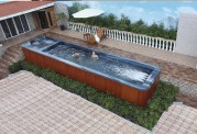 Piscina de hidromassagem spa AT swim-008