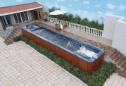 Piscina de hidromassagem spa AT swim-009