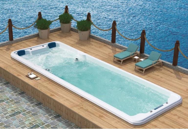 Piscina de hidromassagem spa AT swim-007B