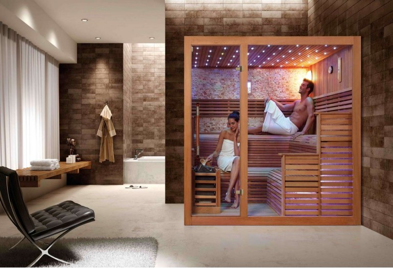 Sauna seca premium AX-018C