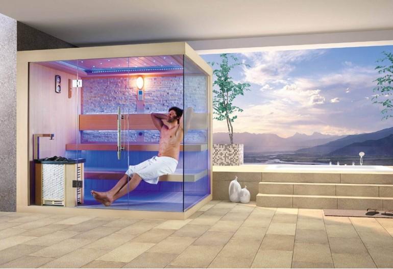 Sauna seca premium AX-024