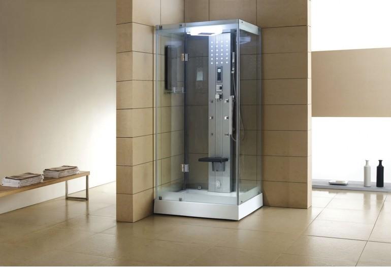 Cabine de hidromassagem com sauna AS-005A
