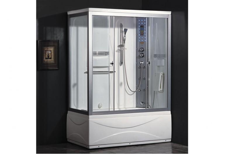 Cabine de hidromassagem e banheira com sauna AT-007A