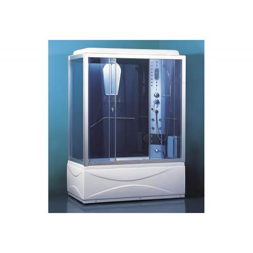 Cabina hidromasaje y bañera con sauna AT-007B