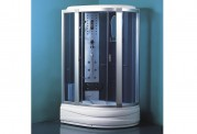 Cabine de hidromassagem e banheira com sauna AT-005