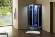 Cabine de hidromassagem com sauna AS-018