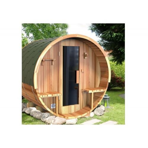 Sauna seca com forma de barril AF-003B