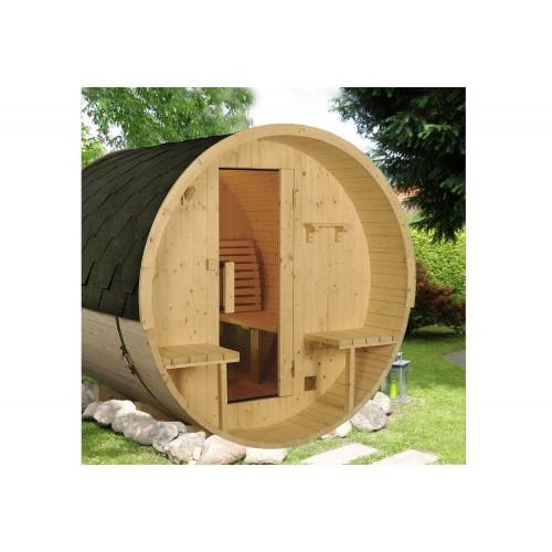 Sauna seca con forma de barril AF-003A