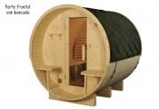 Sauna seca com forma de barril AF-003A