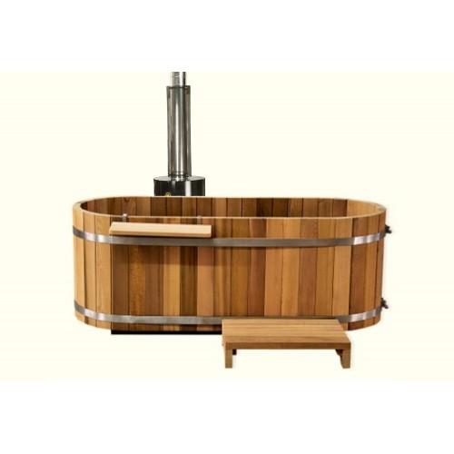 Ofuro japonés / Tina de madera exterior AU-001B