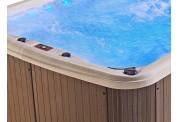 Piscina de hidromasaje swim spa AU-001