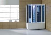 Cabine de hidromassagem e banheira com sauna AT-008C