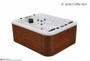 Spa jacuzzi exterior AS-014