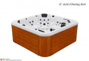 Spa jacuzzi exterior AS-019