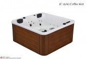 Spa jacuzzi exterior AT-001