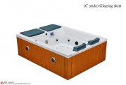 Spa jacuzzi exterior AW-0031A low cost