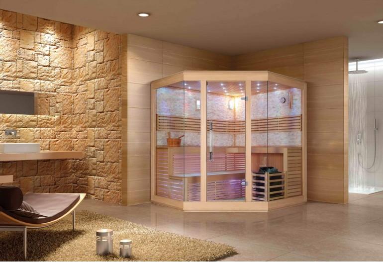 Sauna seca premium AX-003