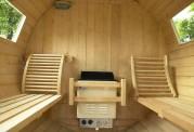Sauna seca con forma de barril AF-001A